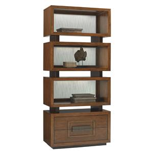 Tommy Bahama Home Island Fusion Tonga Tiered Bookcase