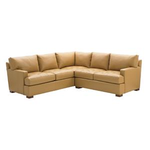 Tommy Bahama Home Island Fusion Osaka Leather Sectional Sofa