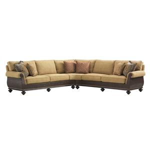 Tommy Bahama Home Island Traditions Westbury Sectional Sofa