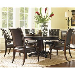 Tommy Bahama Home Island Traditions 6 Piece Dining Set