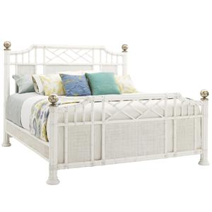 Tommy Bahama Home Ivory Key King Pritchards Bay Panel Bed