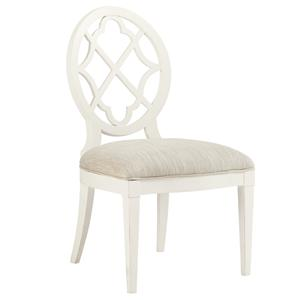Tommy Bahama Home Ivory Key <b> Customizable </b> Mill Creek Side Chair