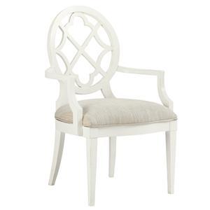 Tommy Bahama Home Ivory Key <b> Customizable </b>Mill Creek Arm Chair