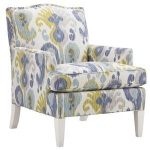 Tommy Bahama Home Ivory Key Walton Chair