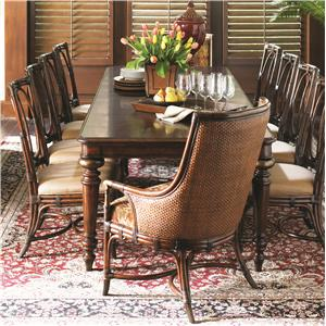 Tommy Bahama Home Landara 11 Piece Pelican Hill Dining Set