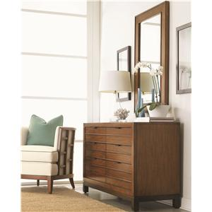 Tommy Bahama Home Ocean Club Palm Bay Dresser & Somerset Mirror