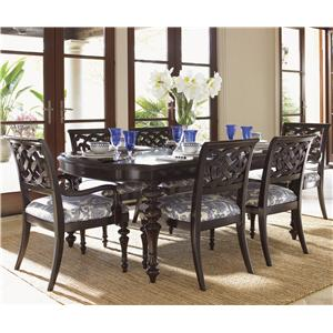 Tommy Bahama Home Royal Kahala 7 Piece Set