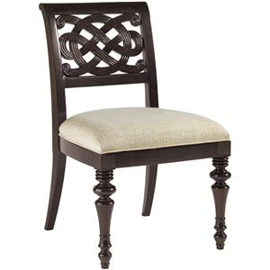 Tommy Bahama Home Royal Kahala Quick Ship Molokai Side Chair
