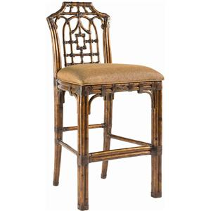 Tommy Bahama Home Royal Kahala Customizable Pacific Rim Bar Stool