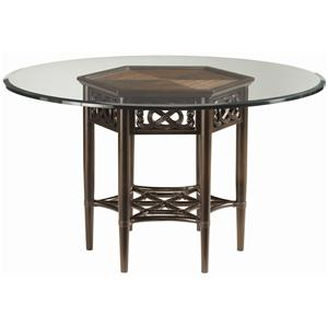 "Tommy Bahama Home Royal Kahala 60"" Sugar and Lace Table"