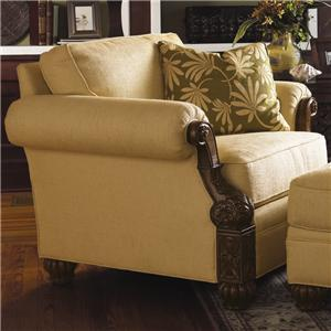 Tommy Bahama Home Tommy Bahama Upholstery Benoa Harbour Chair