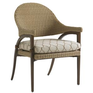 Tommy Bahama Outdoor Living Aviano Outdoor Dining Arm Chair