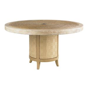 "Tommy Bahama Outdoor Living Canberra Surf & Sand 54"" Round Dining Table"