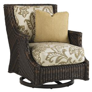 Tommy Bahama Outdoor Living Island Estate Lanai Outdoor Swivel Lounge Chair