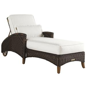 Tommy Bahama Outdoor Living Island Estate Lanai Outdoor Chaise Lounge