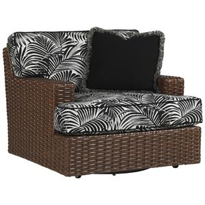 Tommy Bahama Outdoor Living Ocean Club Pacifica Swivel Lounge Chair