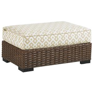 Tommy Bahama Outdoor Living Ocean Club Pacifica Outdoor Ottoman