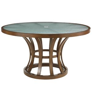 Tommy Bahama Outdoor Living Ocean Club Pacifica Round Dining Table
