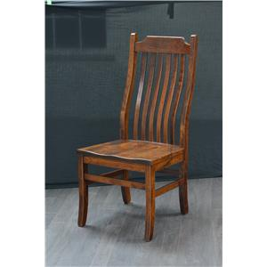 Trailway Wood Trailway Wood Trailway Wood Copper Canyon Side Chair