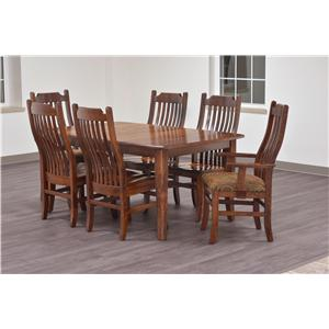 Trailway Wood Trailway Wood 7-Piece Dining Set