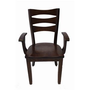 Trailway Wood ALT3648 Arm Chair