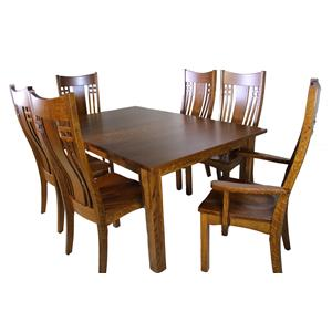 Trailway Wood Andalusia 7-Piece Dining Set