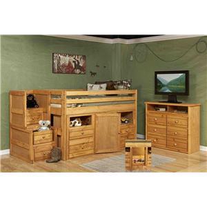 Trendwood 4100 Junior Loft Bed