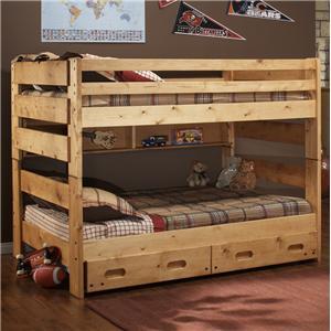 Trendwood Bunkhouse Full Big Sky Bunk Bed