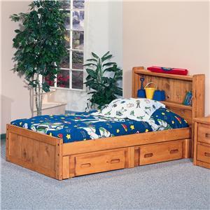 Trendwood Bunkhouse Twin Mates Bed