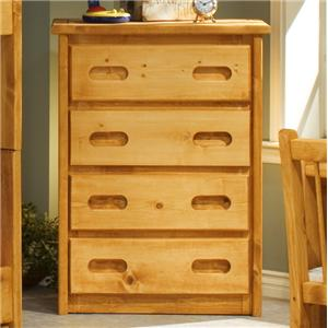 Trendwood Bunkhouse 4 Drawer Chest