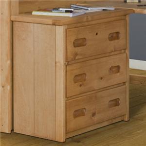 Trendwood Bunkhouse Bunkhouse 3 Drawer Dresser