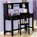 Trendwood Laguna  Student Desk and Hutch - Item Number: 4540+41
