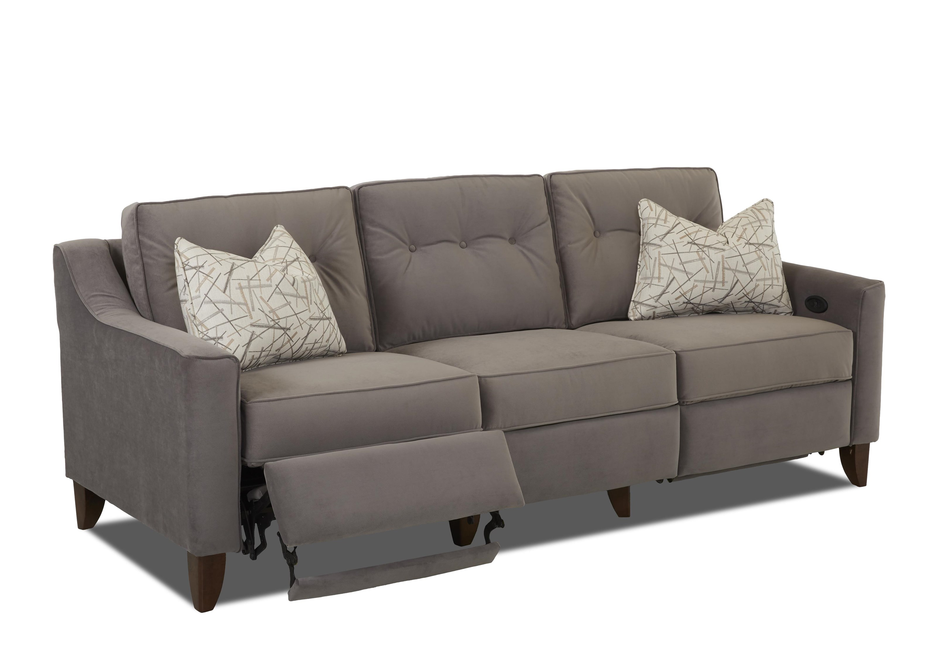 Contempory High Leg Power Recliner by Trisha Yearwood Home ...