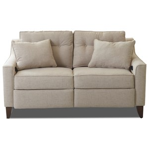 Power Reclining High Leg Loveseat