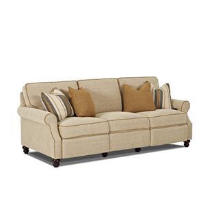 Traditional Power Hybrid Sofa