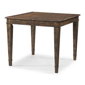 Southern Kitchen Counter Height Table with 18 Inch Leaf