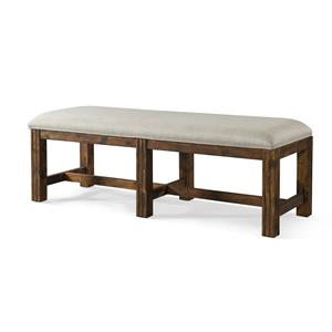 Carroll Bench with Upholstered Seat