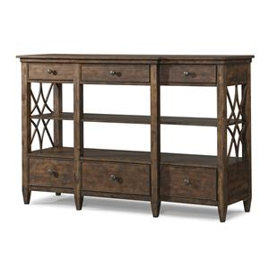 Bakersfield Sideboard with Lattice Pattern on Sides