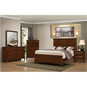 5 pc Casual Country Bedroom