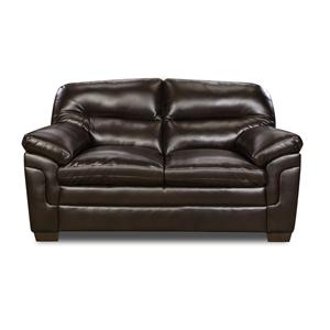 Simmons Upholstery 3616 Casual Loveseat