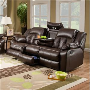 United Furniture Industries 50325 Casual Double Motion Sofa