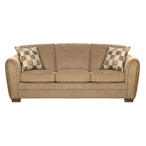Simmons Upholstery 5154 Queen Sleeper Sofa