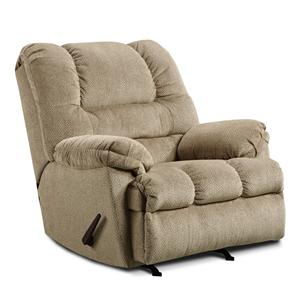 United Furniture Industries 600 Casual Oversized Rocker Recliner