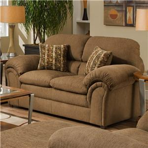 Simmons Upholstery 6150 Loveseat
