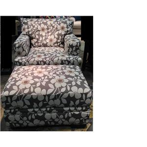 United Furniture Industries 6491 Ottoman