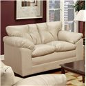 Simmons Upholstery 6569 Loveseat - Item Number: 6569-LS ST