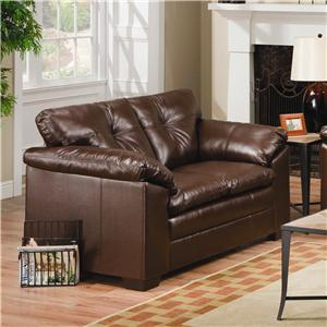 Simmons Upholstery 6569 Loveseat