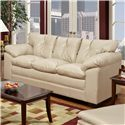 Simmons Upholstery 6569 Sofa - Item Number: 6569-SF ST