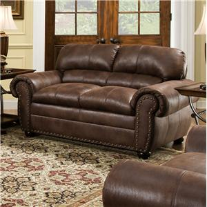 United Furniture Industries 7510 Casual Loveseat