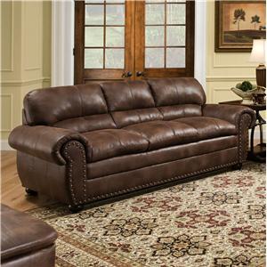 United Furniture Industries 7510 Casual Sofa
